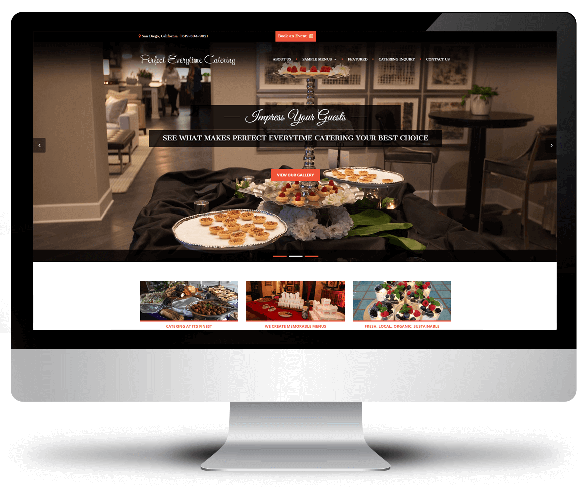 Perfect-Everytime Catering (homepage)